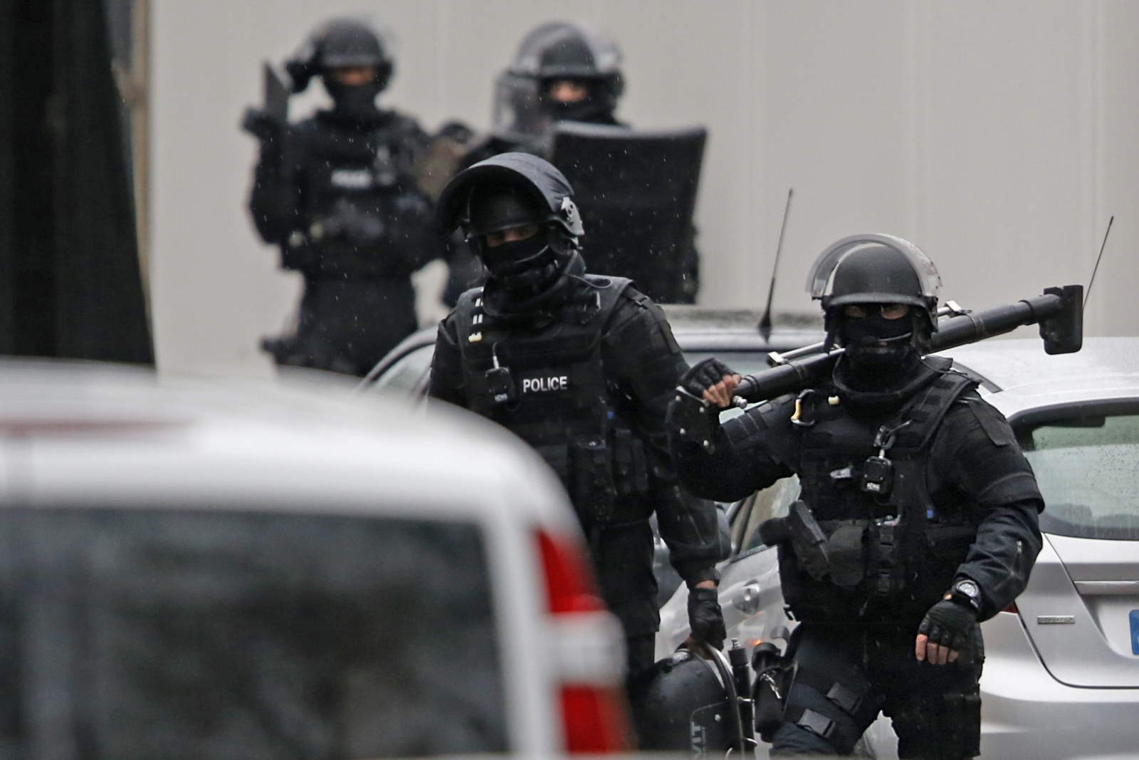 Paris Shooting: Female police officer killed as gunman opens fire after Charlie Hebdo attack