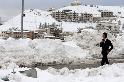 snow middle east