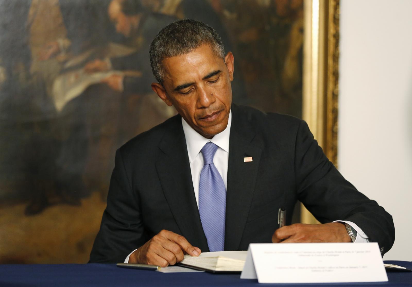 Charlie Hebdo Paris Shooting Obama France US