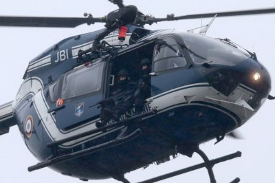 Charlie Hebdo helicopter
