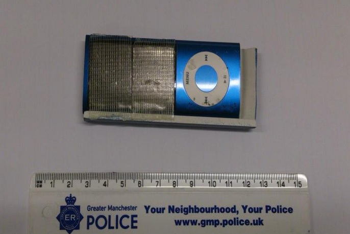 iPod nano used as spy camera in ATM