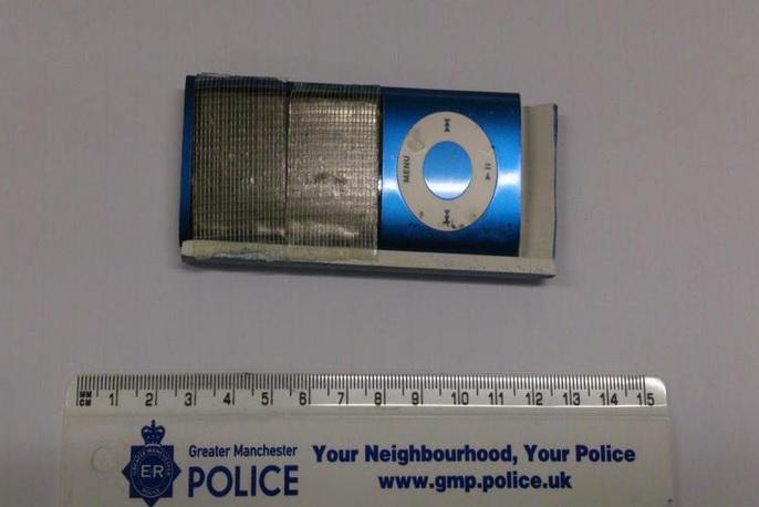 iPod nano used as spy camera in ATM