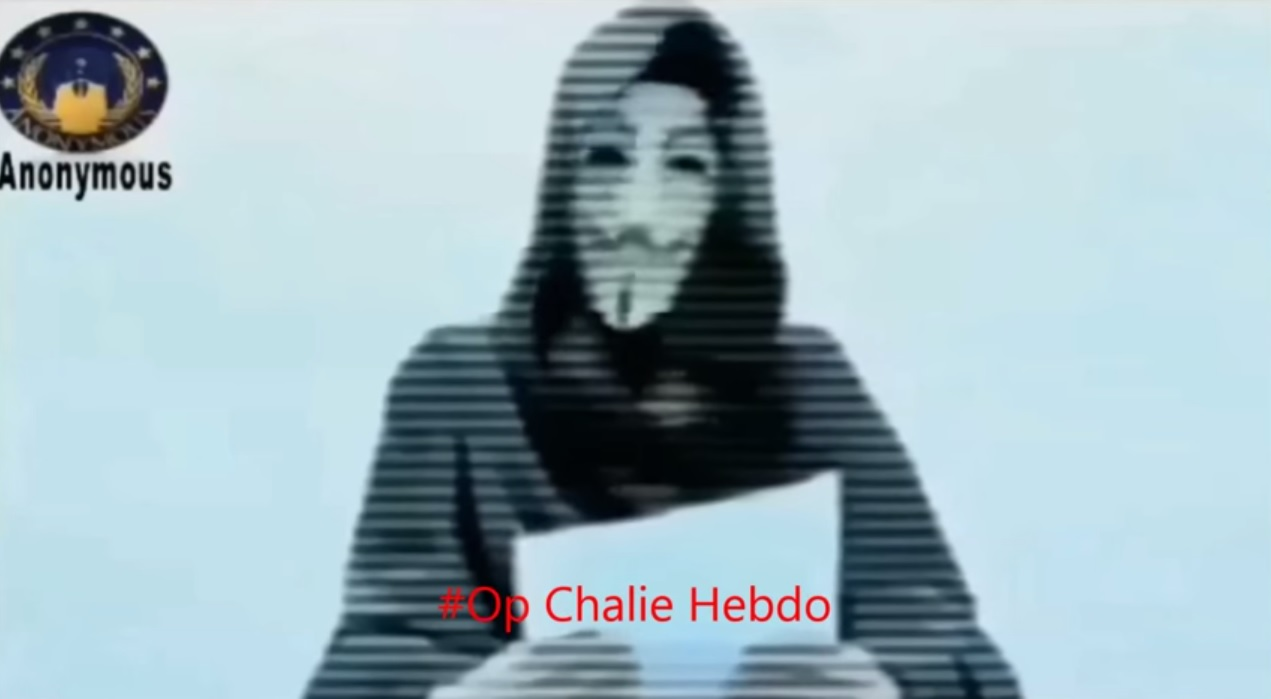anonymous charlie hebdo opcharliehebdo