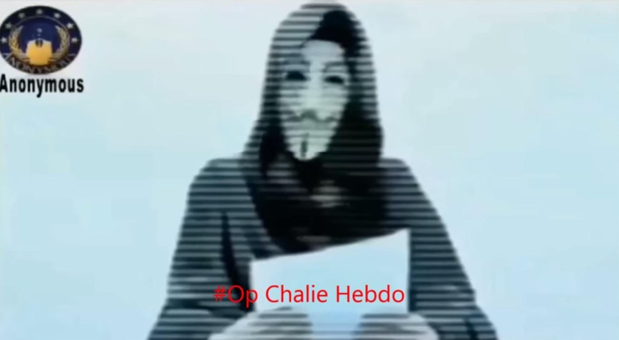 anonymous charlie hebdo opcharliehebdo