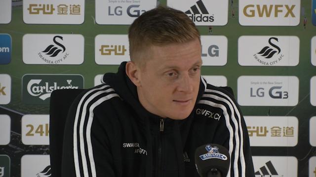 Garry Monk: City must meet Swansea's valuation for Bony