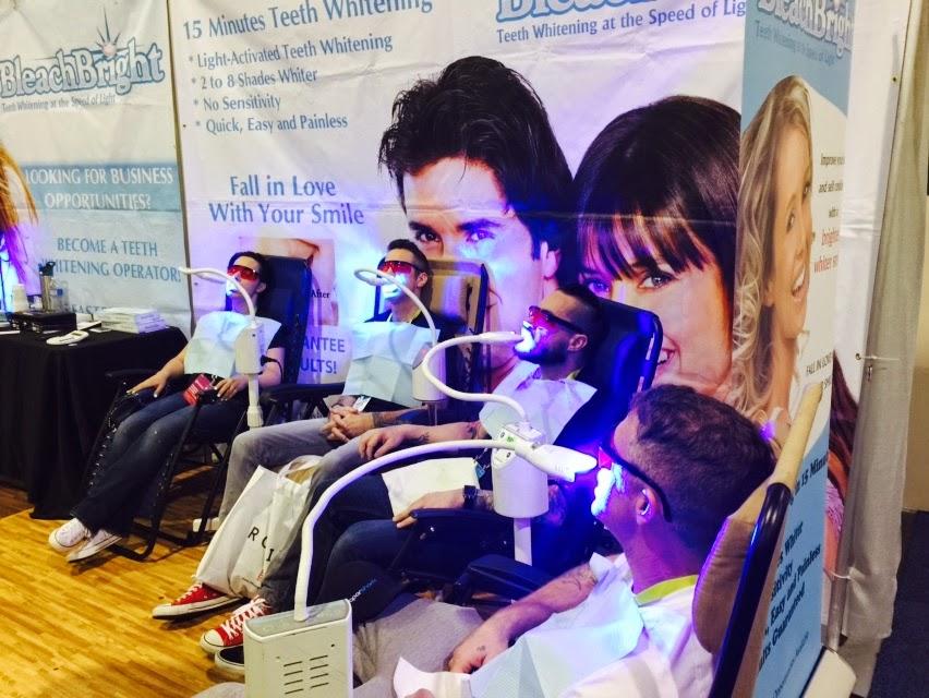 Teeth Whitening @ CES 2015