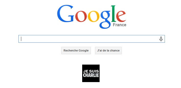 Google je suis Charlie