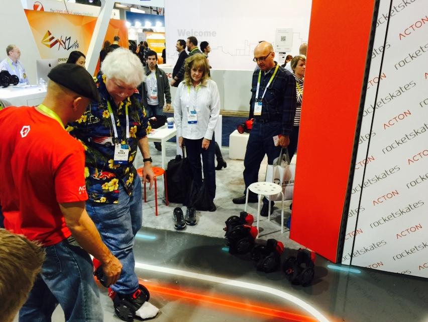 Acton Rocket skates CEs 2015