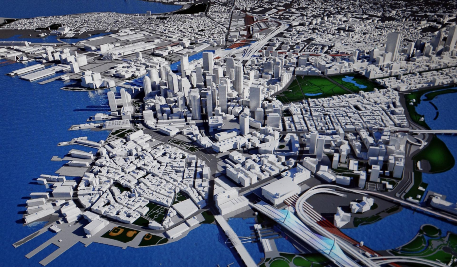 Boston selected by the USOC as their candidate city for the 2024 Summer Games