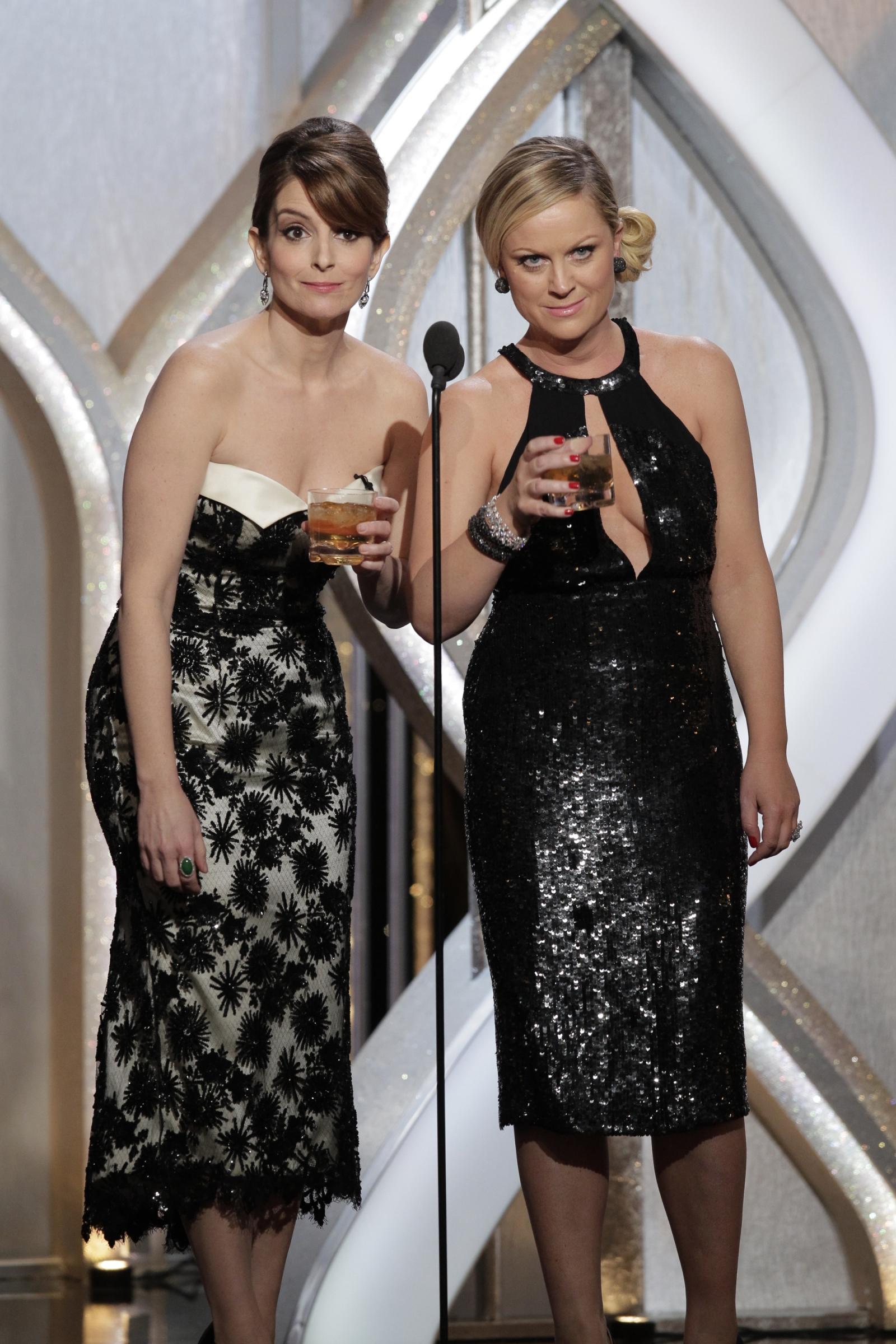 Golden Globes Tina Fey Amy Poehler