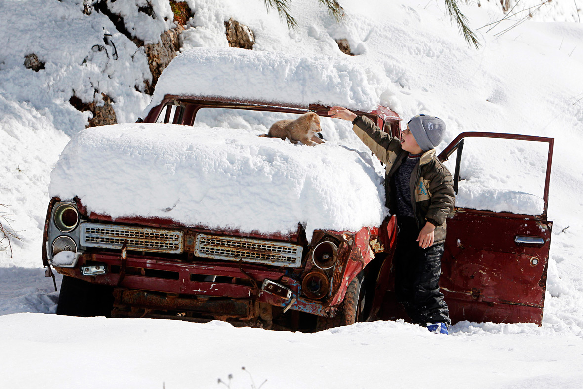 Lebanon snow