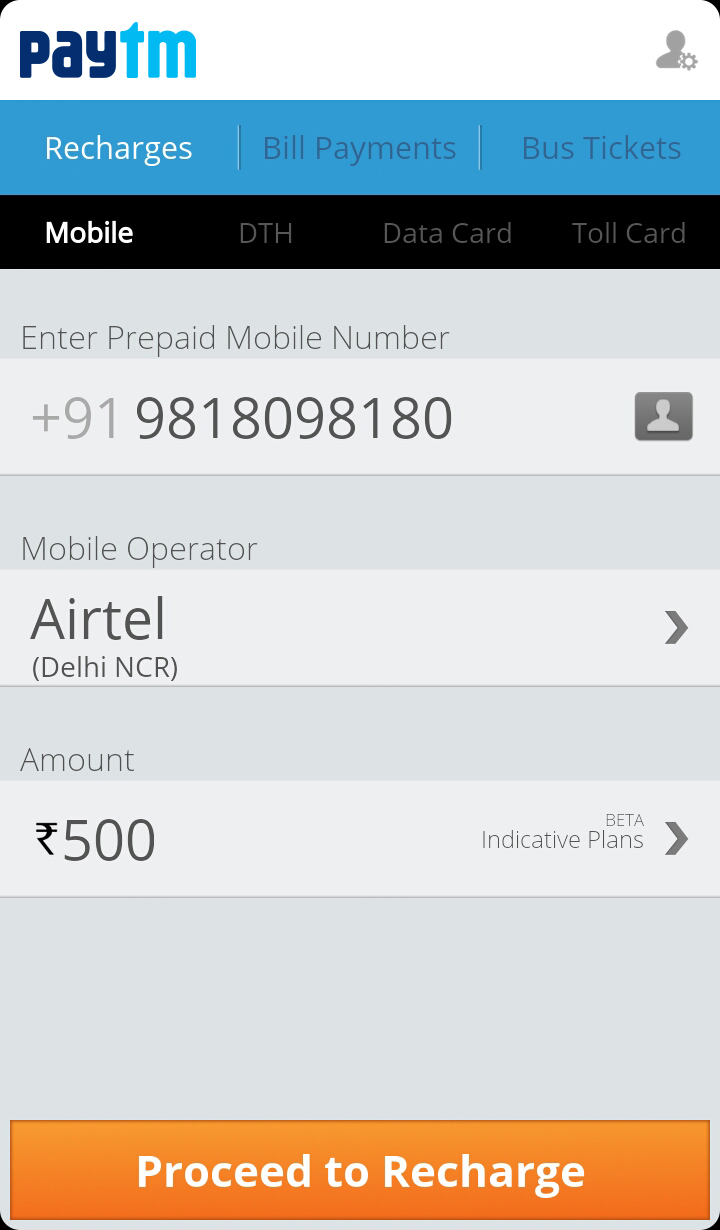 Paytm android