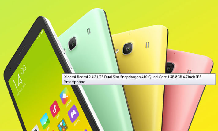 Xiaomi Redmi 2 4G-LTE smartphone available to buy internationally: Check out now