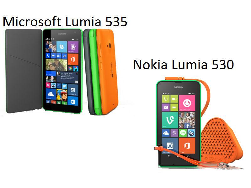 Microsoft Lumia 535 vs Nokia Lumia 530: Is it worth upgrading to the newer Lumia?