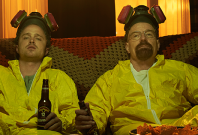 Breaking Bad\'s Walter and Jesse in Better Call Saul