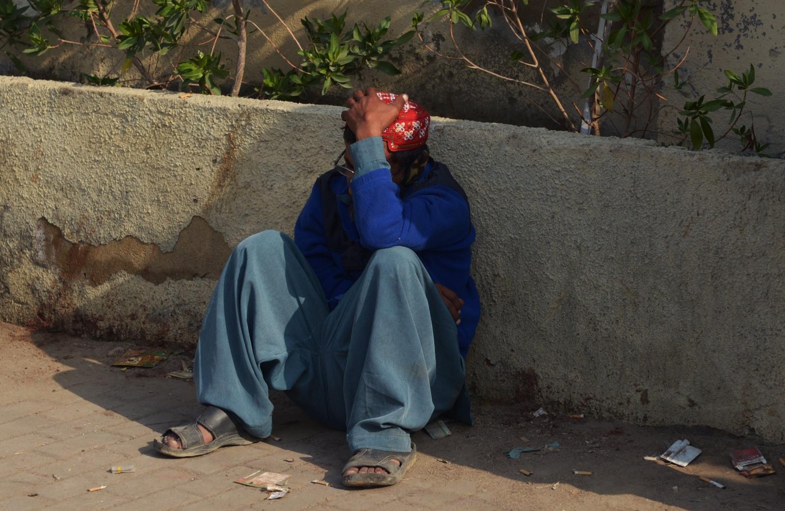 Karachi mourner