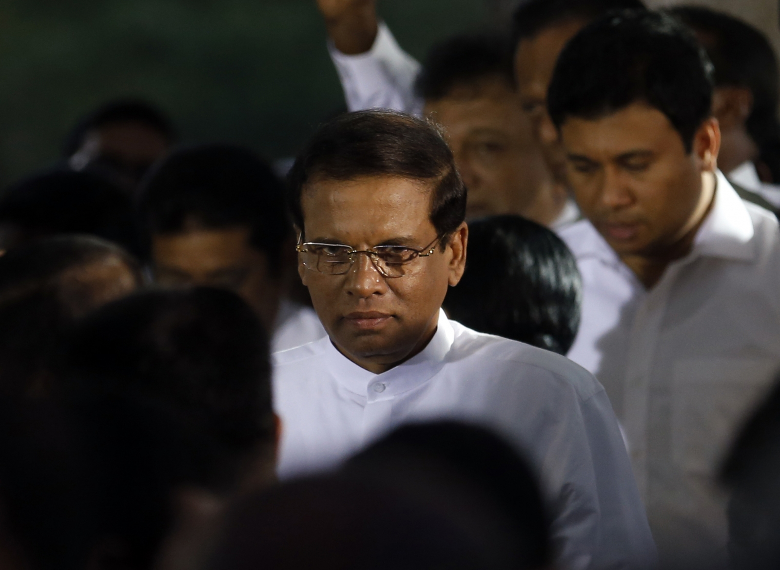Sri Lanka's newly elected President Maithripala Sirisena
