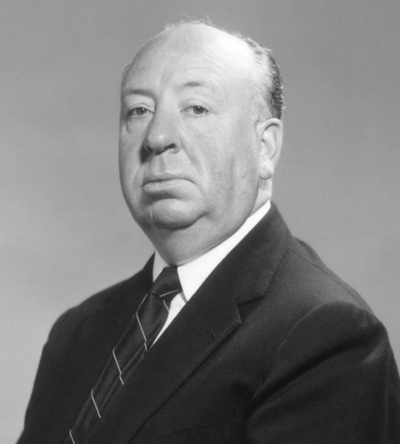 Hollywood director Alfred Hitchcock