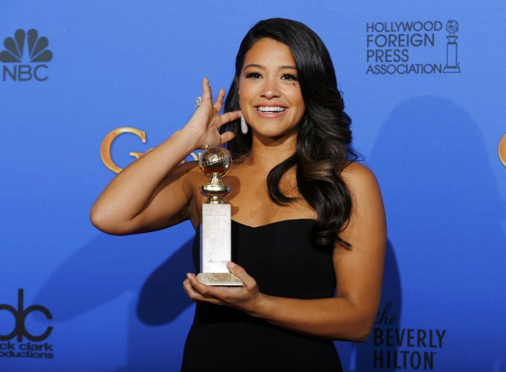 Gina Rodriguez of Jane the Virgin fame speak about Golden Globe win