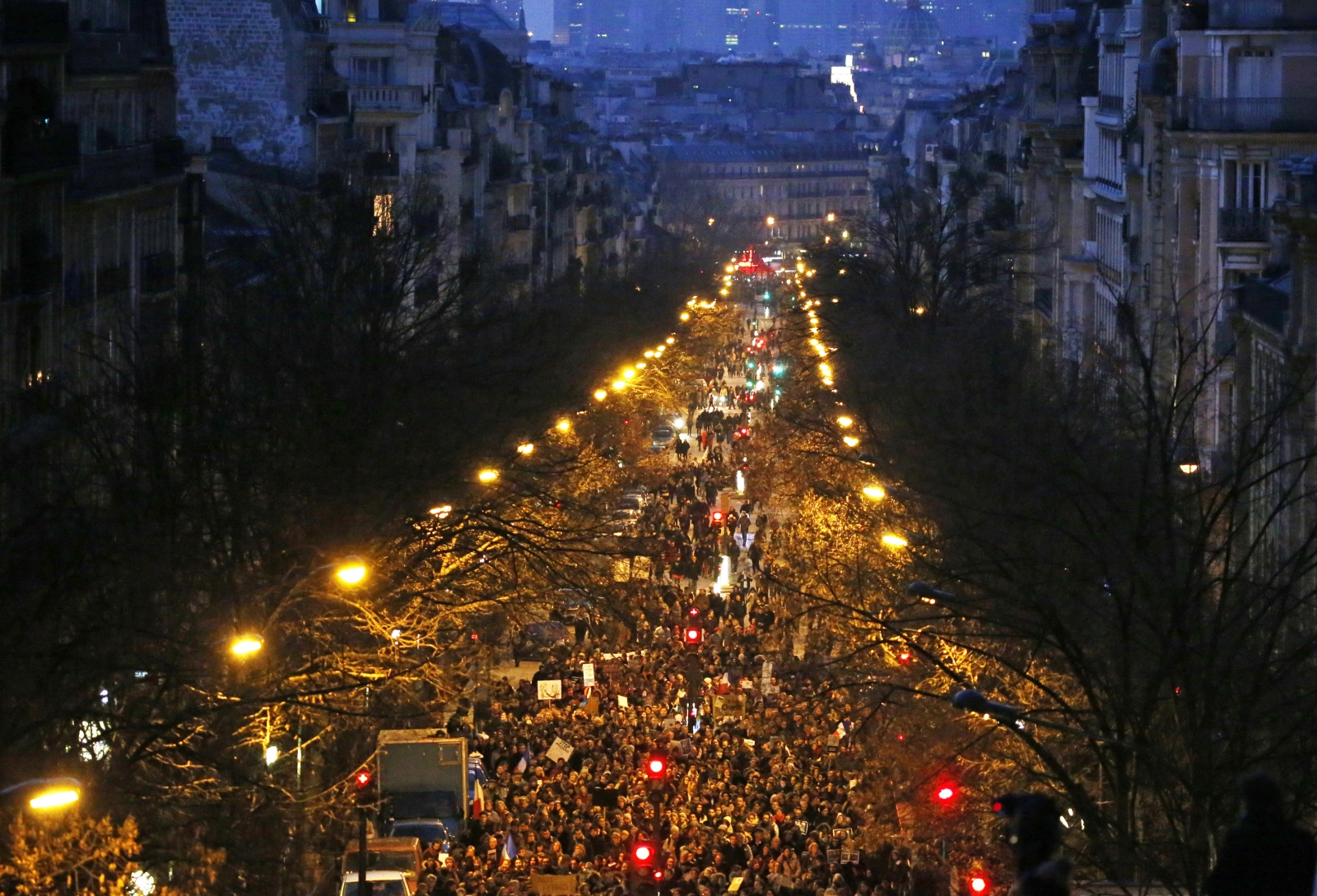 France unity rally in Paris