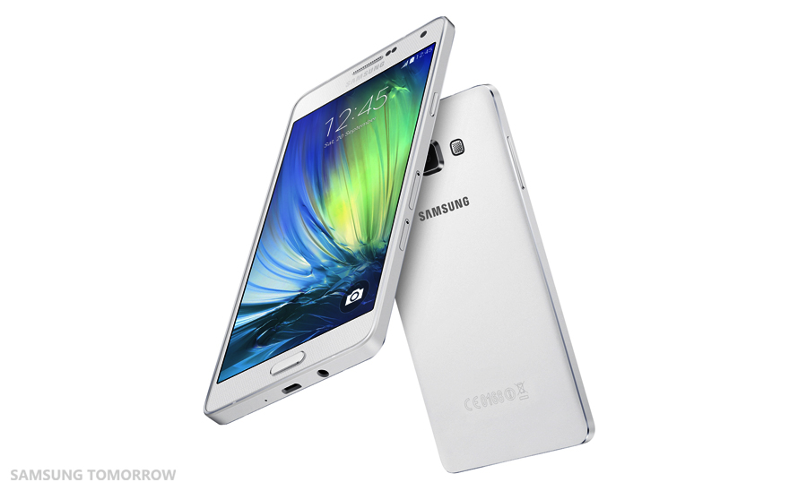 4G-LTE enabled metal-clad Samsung Galaxy A7 unveiled: Competes with prominent high-enders