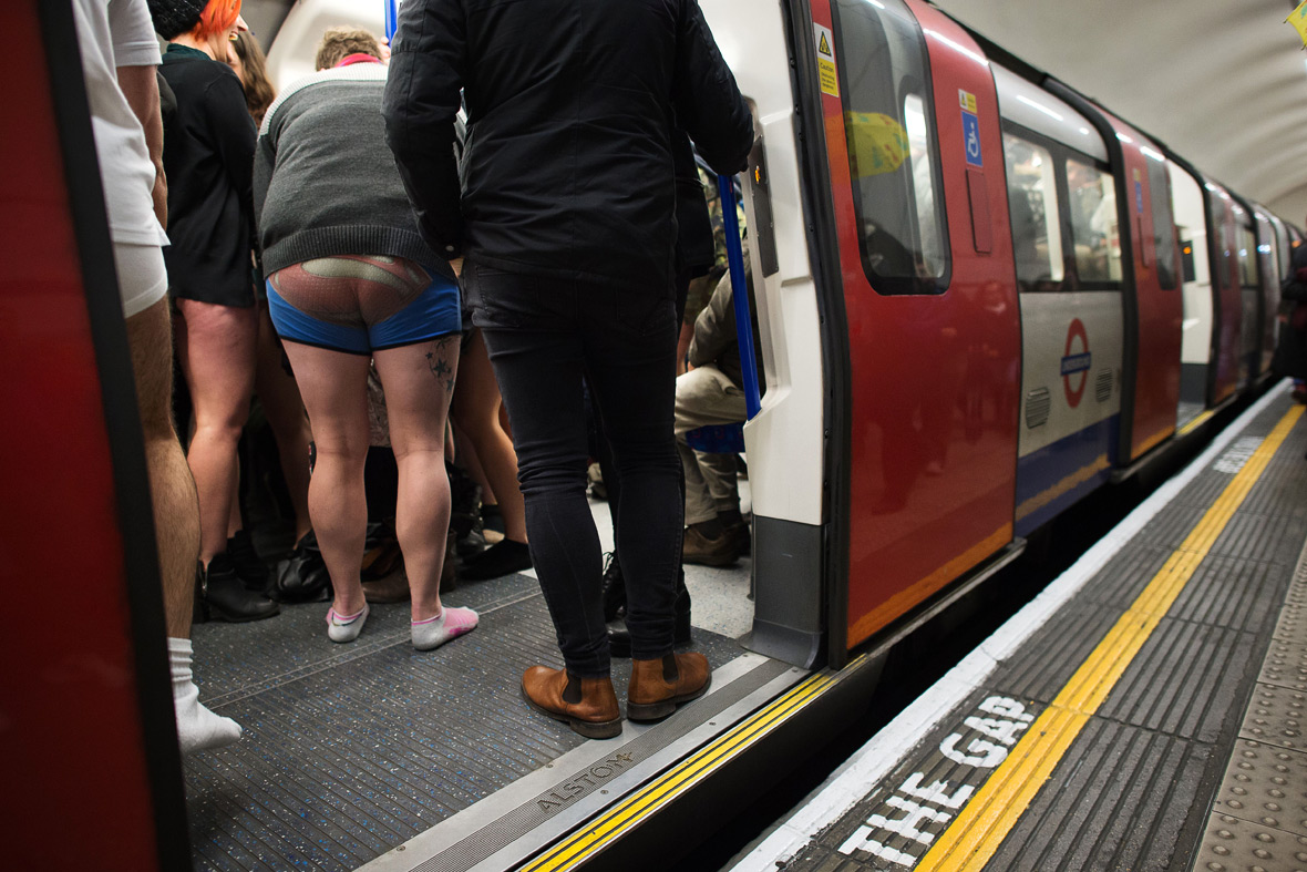 no pants subway