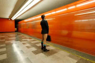 no pants subway