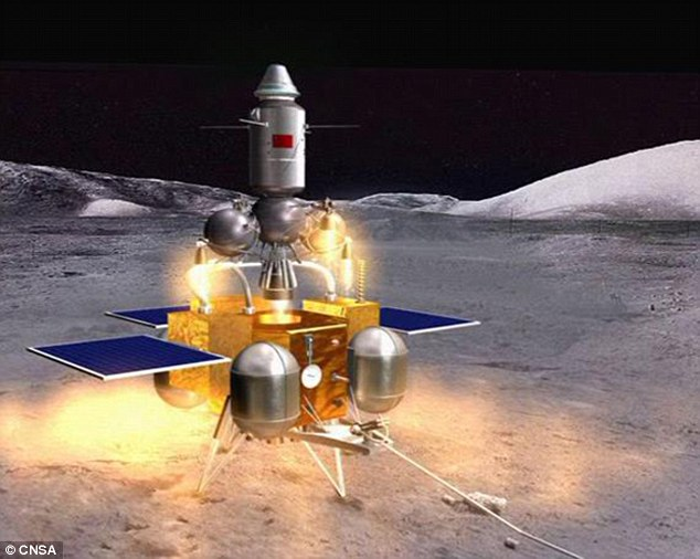 China is looking to mine the moon for the rare helium isotope for use as a future energy source