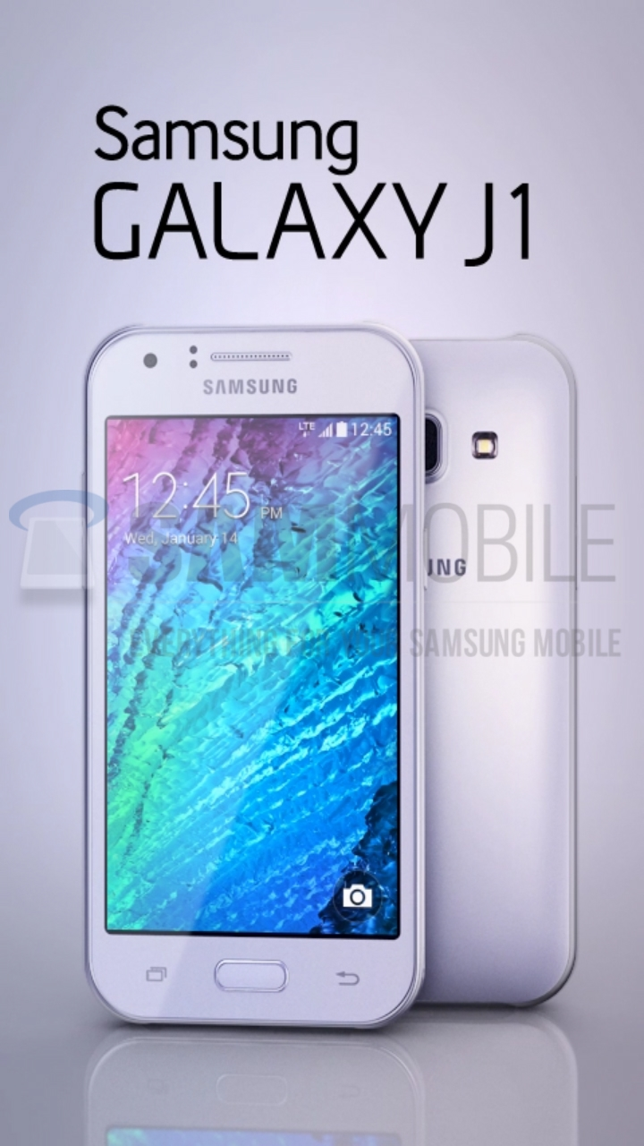 Samsung Galaxy J1 low-ender surfaces in leaked images, expected to be launched soon