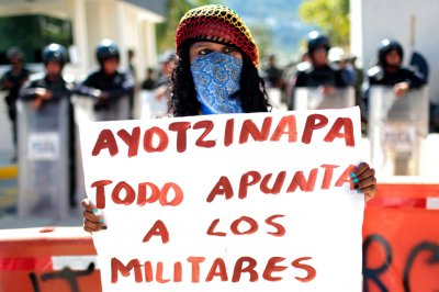 mexico missing students Ayotzinapa