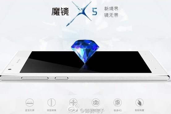 Desay Magical Mirror X5 smartphone