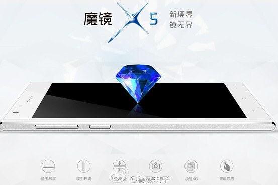Desay Magical Mirror X5 smartphone