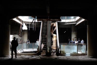 Abandoned department store in Bangkok