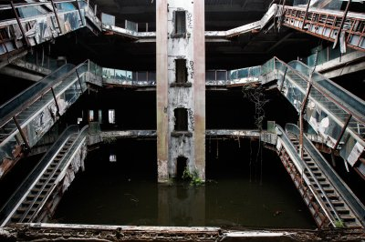 Abandoned department store in Bangkok