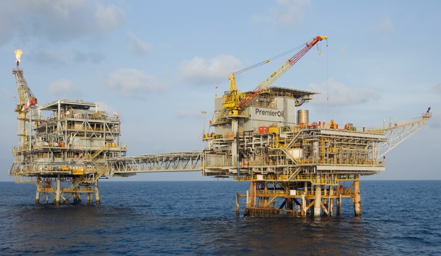 Premier Oil Offshore Rig