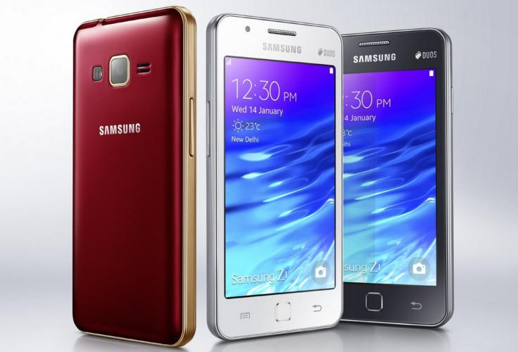 New software update for Samsung Z1 Tizen smartphones upgrades