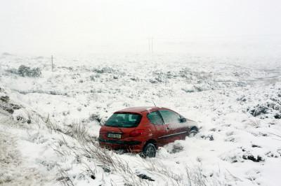 snow ireland