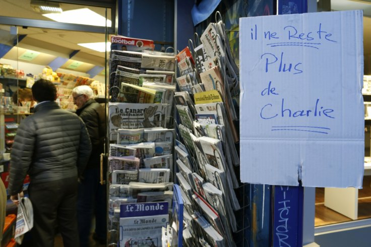 charlie hebdo survivors issue