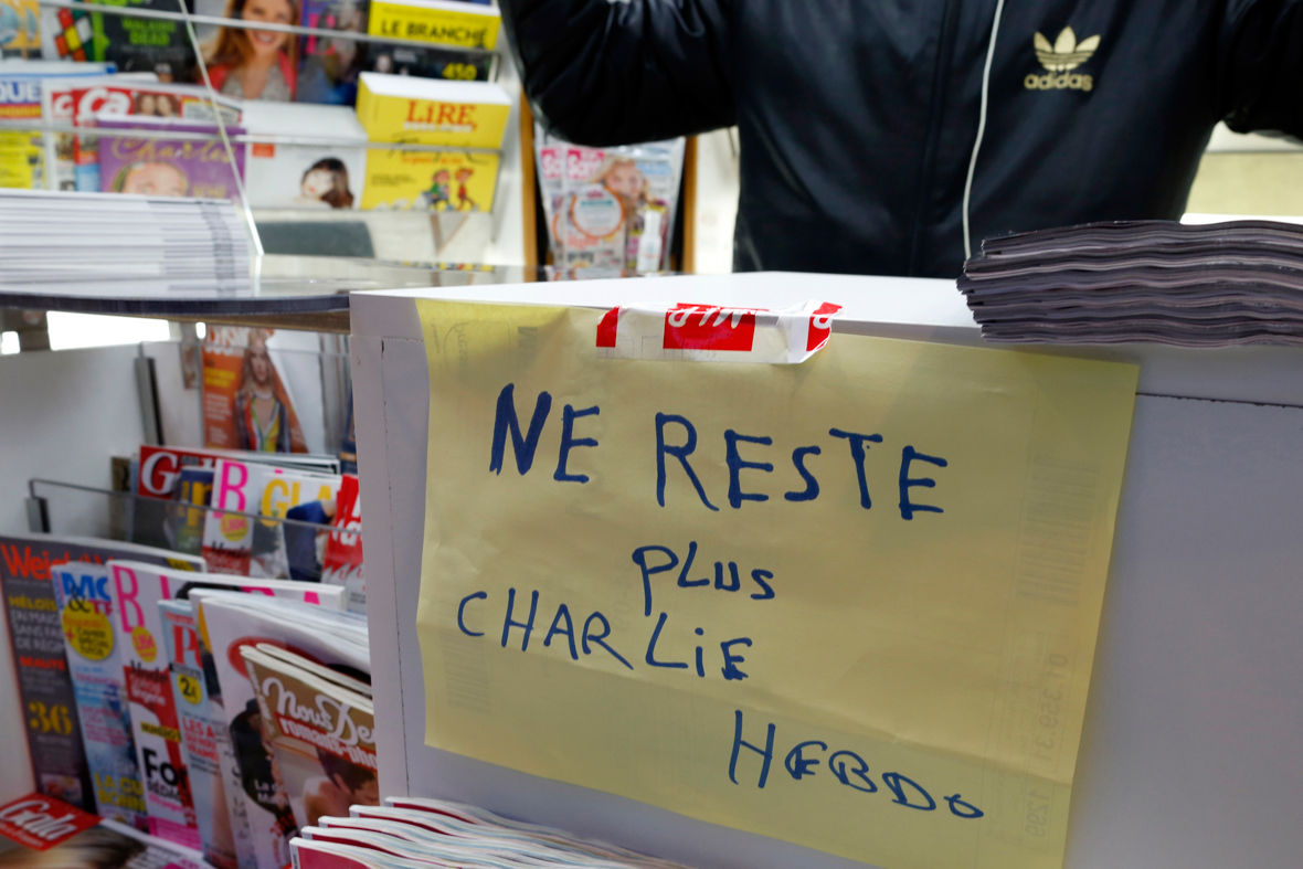 Charlie Hebdo sold out