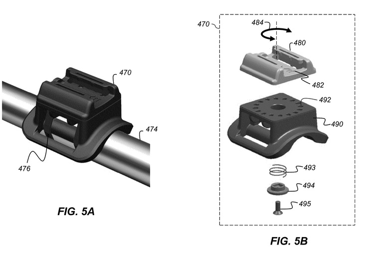 Apple action camera patent