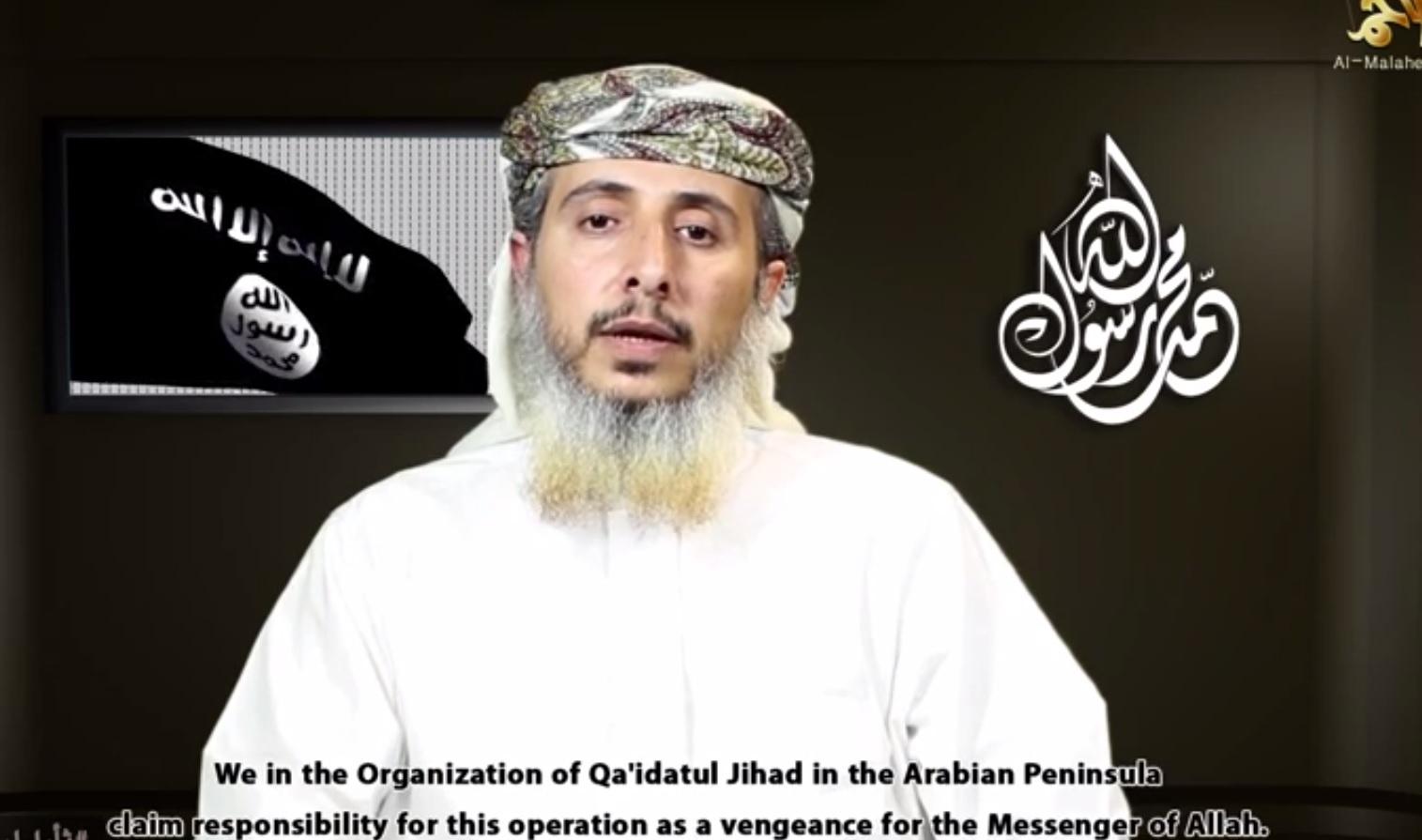 Al-Qaeda in Yemen leader al-Ansi claims responsibility for Paris attacks