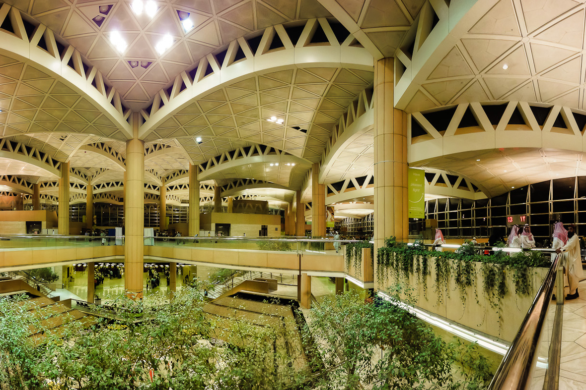 King Khalid Airport in Riyadh