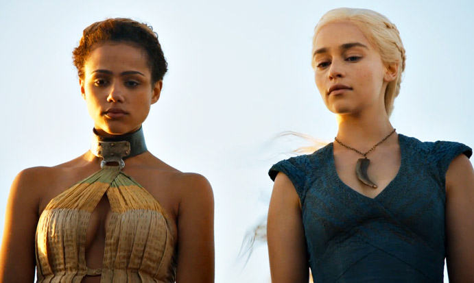 Game Of Thrones Season 5 Daenerys And Arya Stark Praised -2325