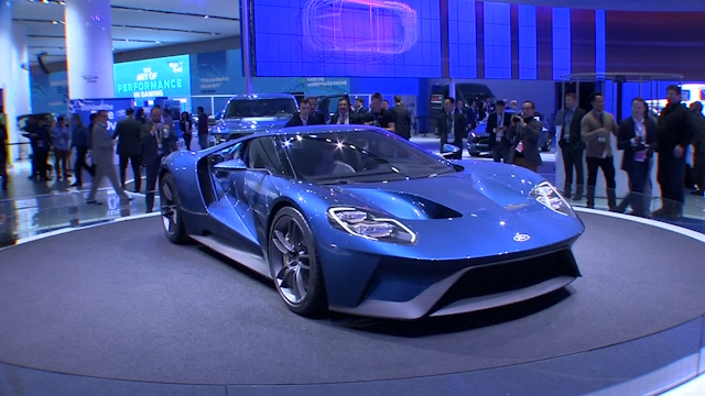Sexiest cars of the North American International Auto Show 2015
