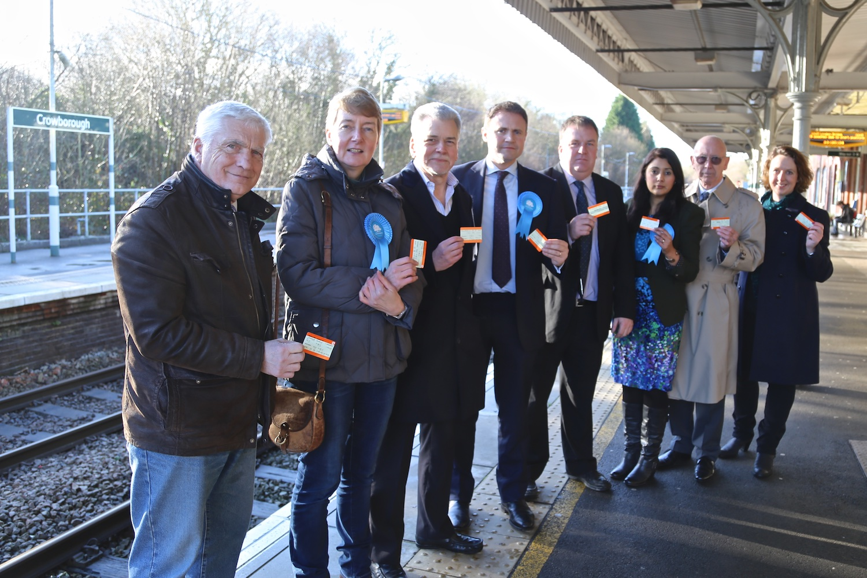 Crowborough rail rally