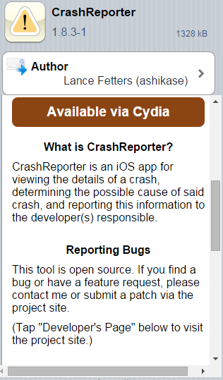 How to troubleshoot crashing issues with jailbreak tweaks and apps via CrashReporter