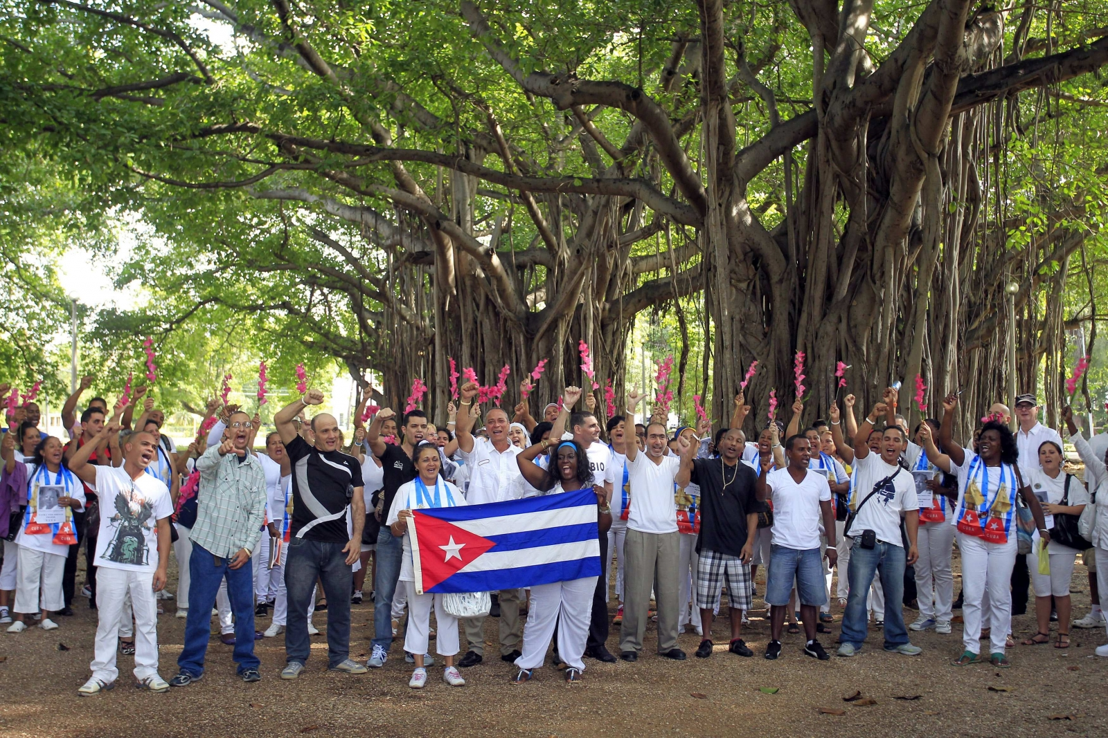 Cuban dissidents out of jail but not entirely free, say leaders