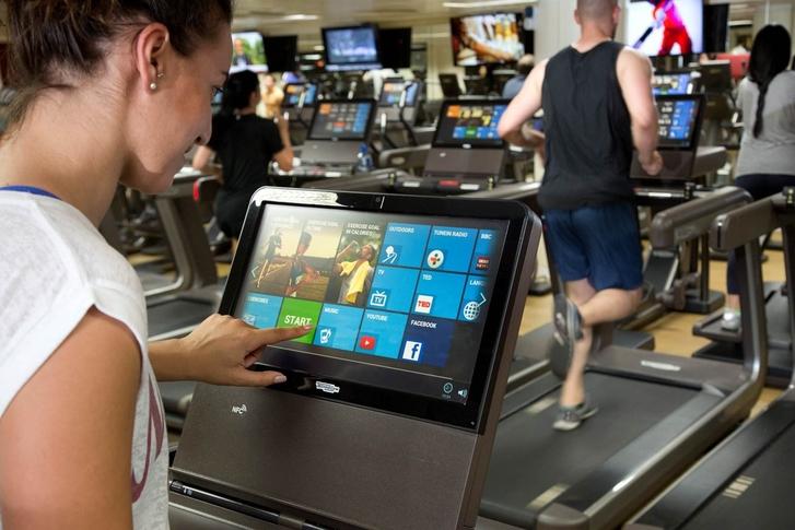 Virgin Active smart gyms