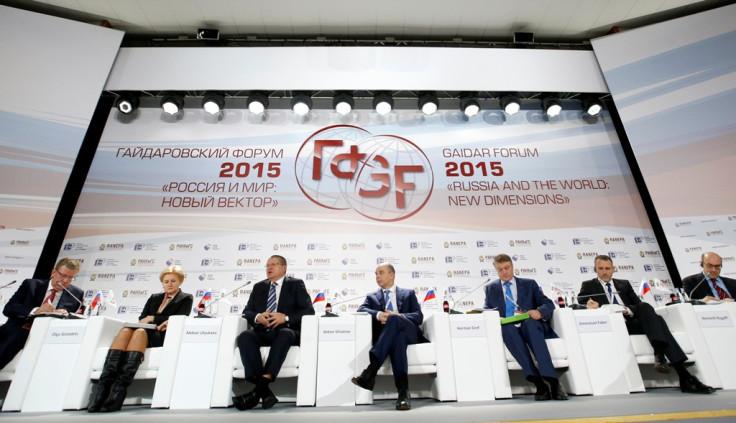 Russia Gaidar Forum 2015