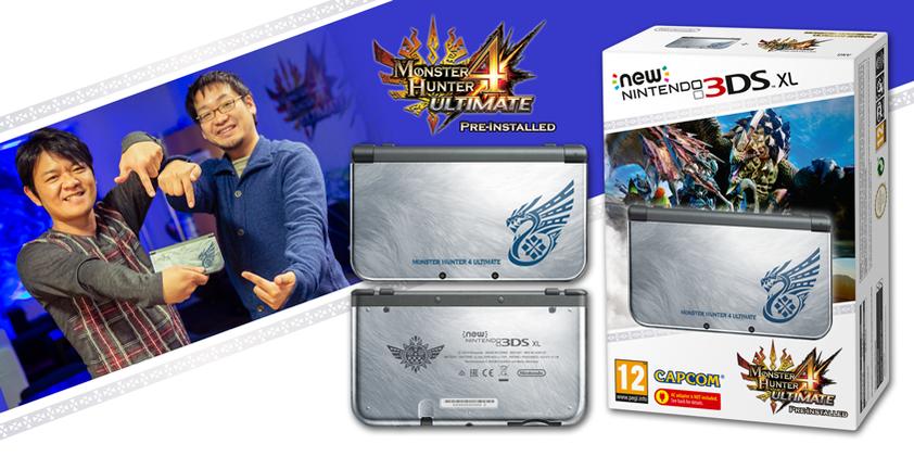 Monster Hunter 4 Ultimate Nintendo 3DS Limited edition